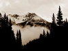 Mist over United States Mountain, Yankee Boy Basin, Ouray