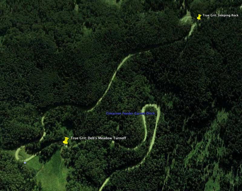 True Grit: Deb's Meadow Google Earth