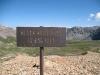 Black Bear Pass Summit Sign