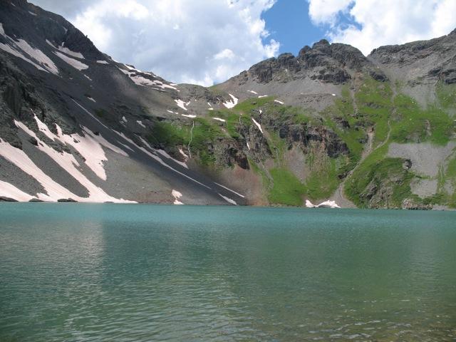 Clear Lake Silverton San Juan Mountains Colorado