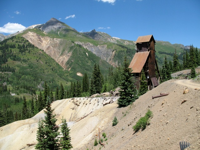 Red Mountain Mining District, Ghost Town, Colorado, San Juan